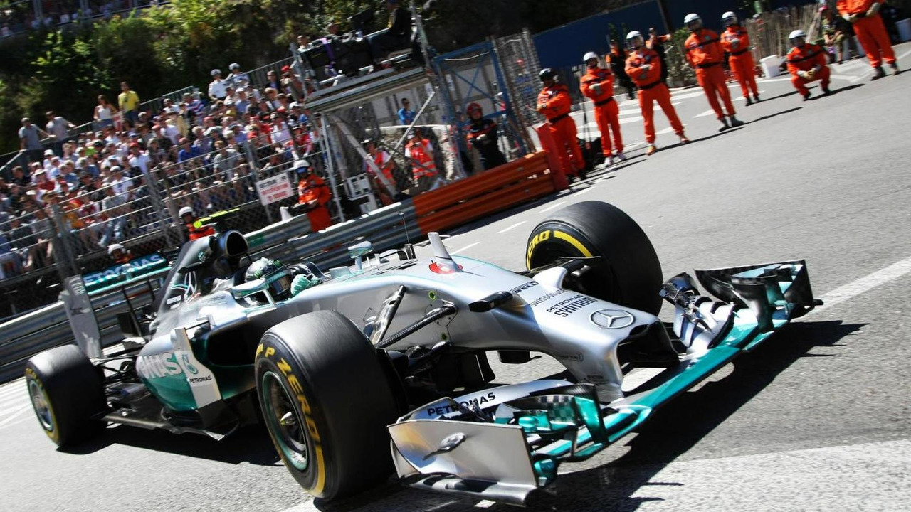 Nico Rosberg (GER), 24.05.2014, Monaco Grand Prix, Monte Carlo / XPB