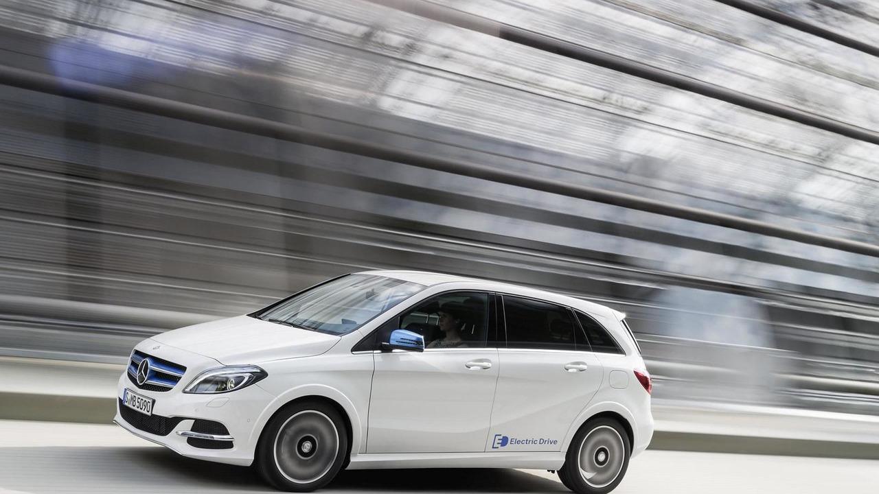 2015 Mercedes-Benz B-Class Electric Drive facelift