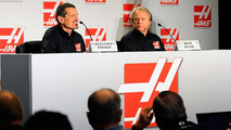 Guenther Steiner and Gene Haas / Getty Images
