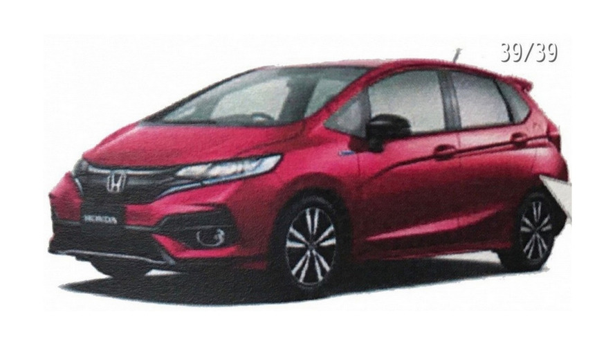 2018 Honda Jazz Facelift Leaks Out In Brochure Images