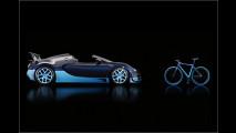 Edles Bugatti-Fahrrad