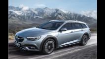 Abenteuerlicher Opel-Kombi