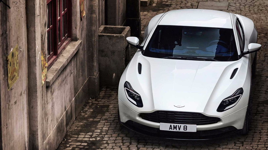 Aston Martin DB11 Turbo V8 Takes A Bow