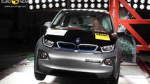 BMW i3 Euro NCAP crash test