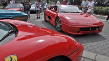 Man proposes to girlfriend with engagement Ferrari