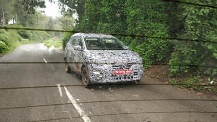 Flagra: Renault Kwid aparece em versão minivan para 7 pessoas