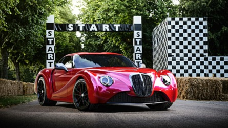 Eadon Green expose l'originale Zeclat à Goodwood