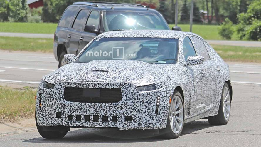Cadillac CT5 Spied For First Time Showing A Mighty Power Bulge