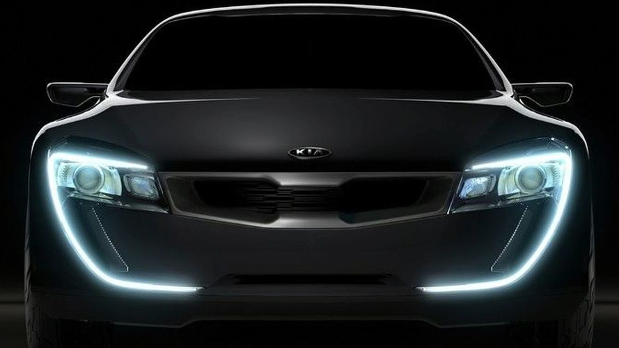 Kia to unveil Concept Coupe in Frankfurt
