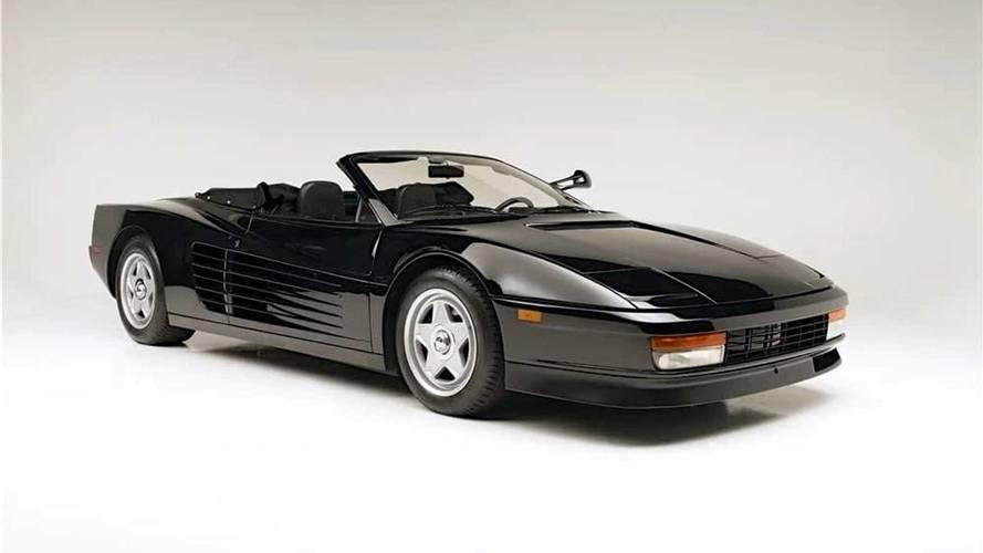Michael Jackson'ın kullandığı Ferrari Testarossa satışa sunuldu