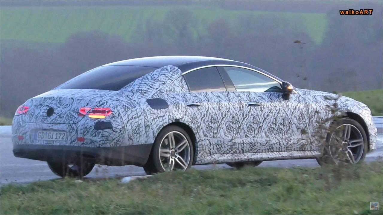 2019 Mercedes-AMG CLS 53 spy photo
