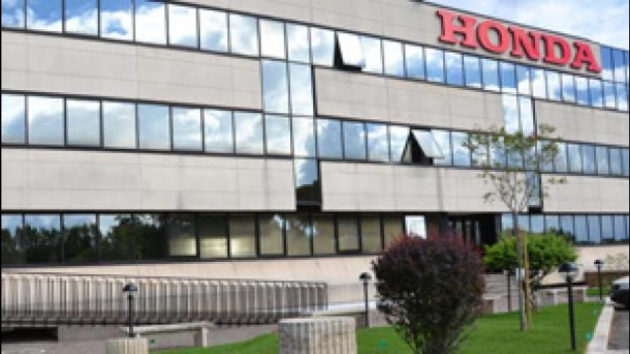 E' nata oggi la Honda Motor Europe Ltd. Italia