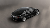 2016 Tesla Model S with glass roof