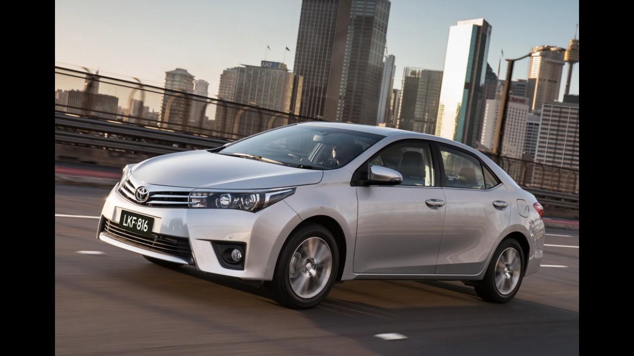 Veja o ranking global das 25 marcas de automóveis mais vendidas no 1º semestre