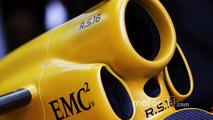 Renault Sport F1 Team RS16 motor kapağı detayı