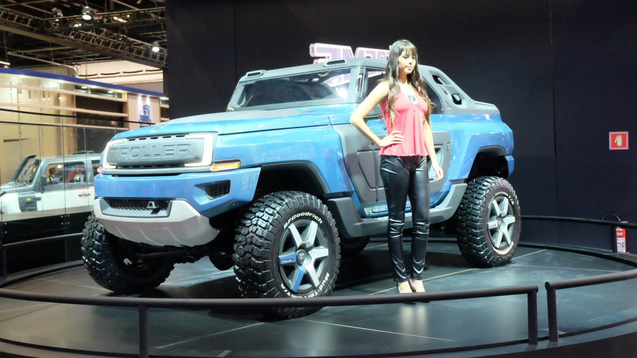 New Ford Bronco >> Brazil's Troller T4 Xtreme concept envisions possible ...