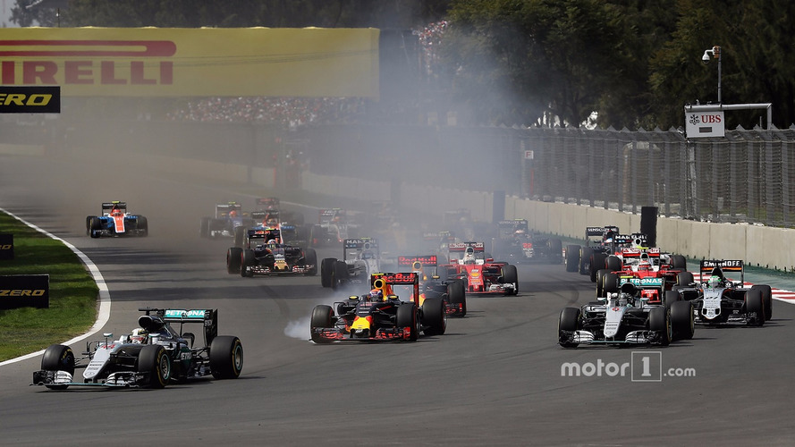 F1 Mexican Grand Prix - Race Results