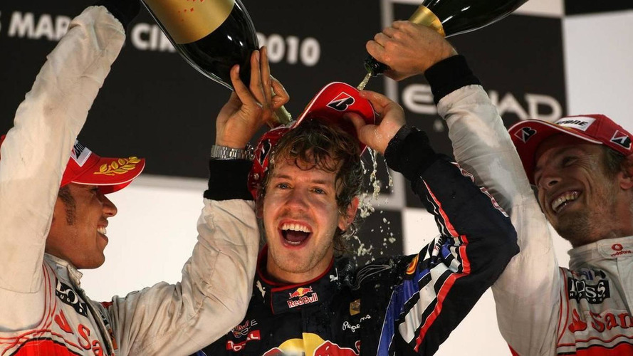 Champion Vettel happy without a manager
