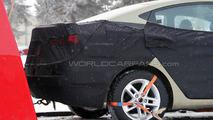 2011 Hyundai Elantra Spy Photos Winter Testing