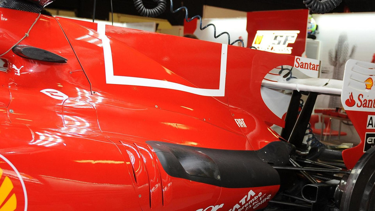 Philip Morris barcode livery removed from F10, Spanish Grand Prix, 06.05.2010 Barcelona, Spain