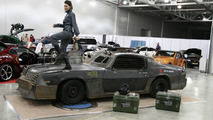 Death Race Style Chevy Camaro Shown at Moscow Tuning Show