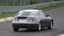 2010 Saab 9-5 spy photo on Nurburgring
