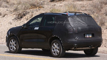 2011 Next Genration VW Touareg hybrid spy photo