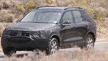 2011 Volkswagen Touareg spy photos in American desert