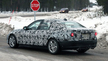 2012 BMW 3-Series F30 winter testing spy photo, 09.12.2009