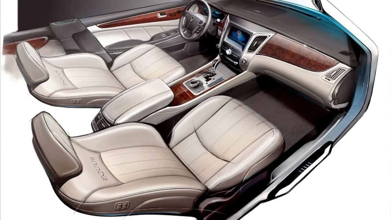 2010 Hyundai Equus design sketch - hi res