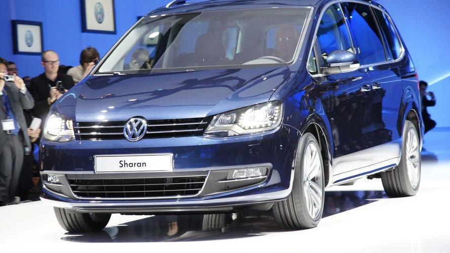 Volkswagen Sharan Unveiled in Geneva