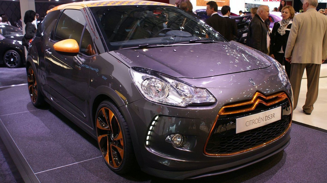 Citroen DS3 Racing live in Geneva 03.03.2010