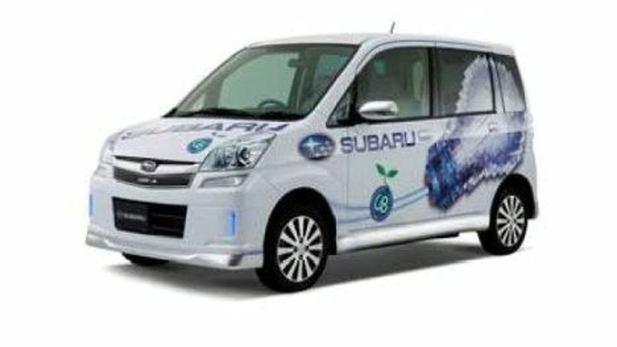 Subaru Presents Plug-in STELLA Concept