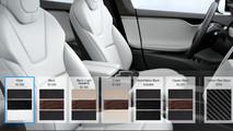 Tesla synthetic leather
