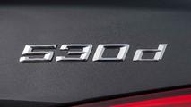 BMW 530d boot badge