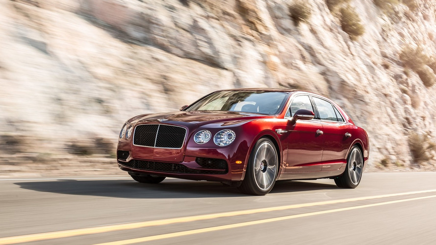 Bentley Flying Spur V8 S heading to Geneva with 521 hp