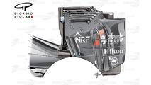 McLaren MP4-31 rear wing endplate, Austrian GP