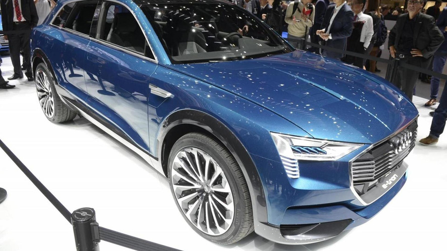 Audi e-tron quattro concept goes official with 503 PS electric powerplant