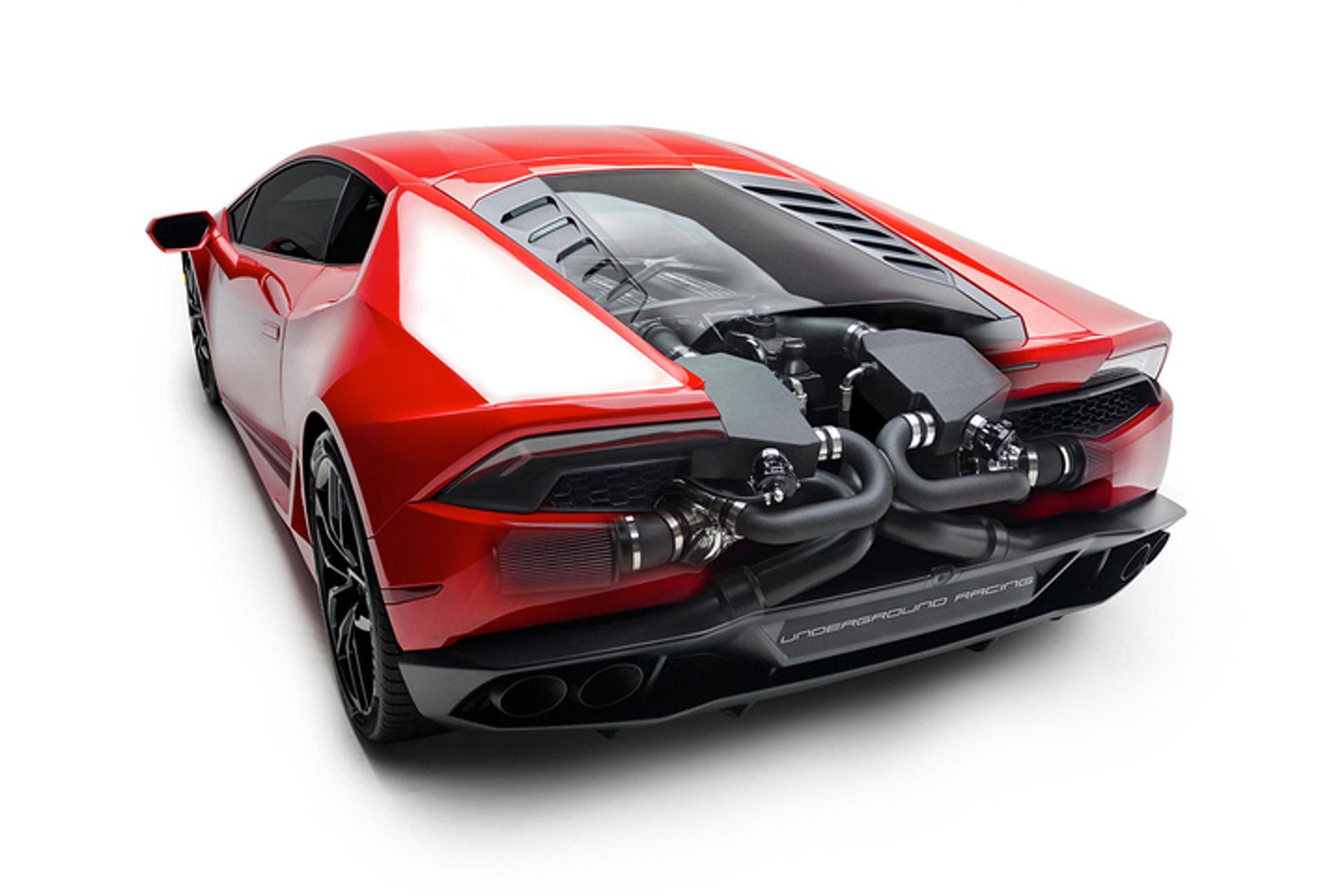 Lamborghini Huracan Twin Turbo Kit Has Lots of Horsepower