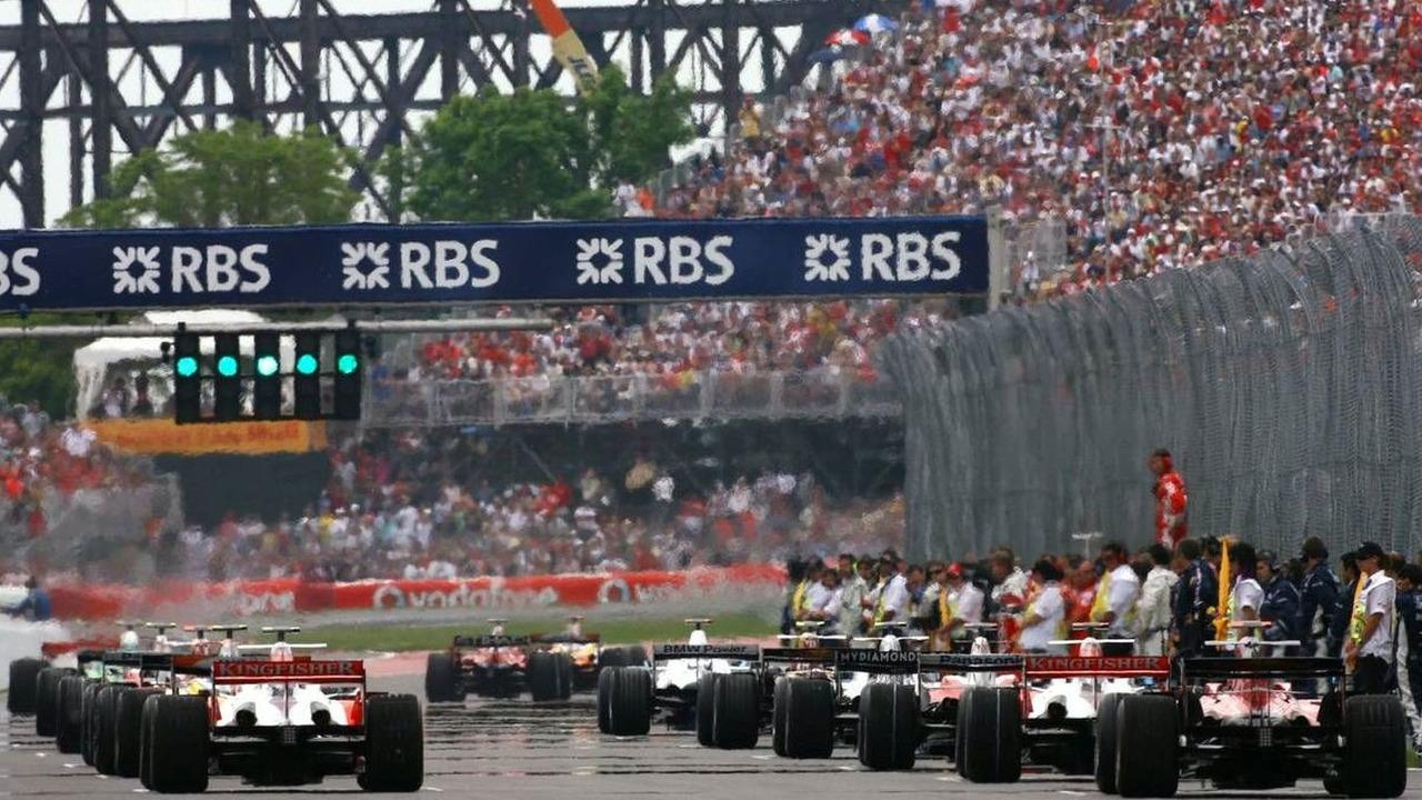 Canadian Grand Prix, Pre-Race Grid 08.06.2008