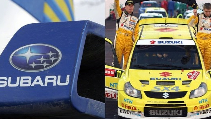 Subaru and Suzuki withdraw from WRC in 2009