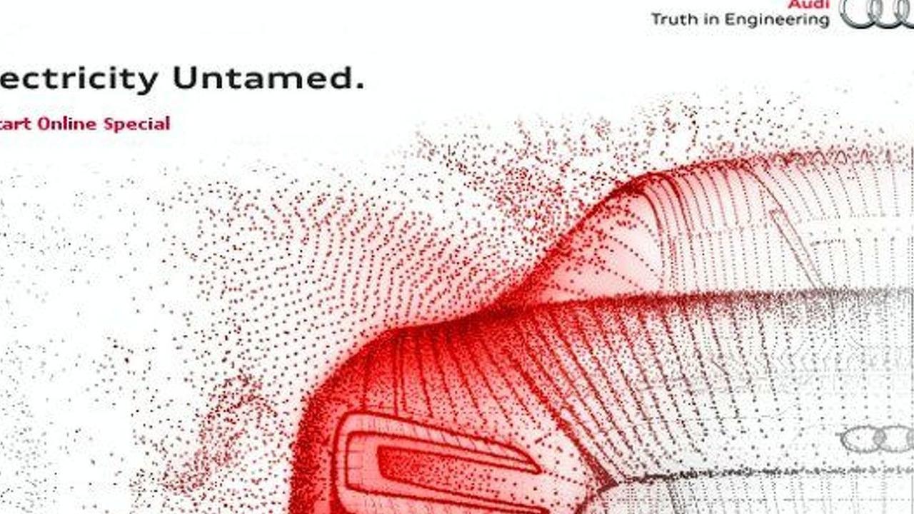 Audi Electricy Untamed R8 ePerformance microsite screenshot
