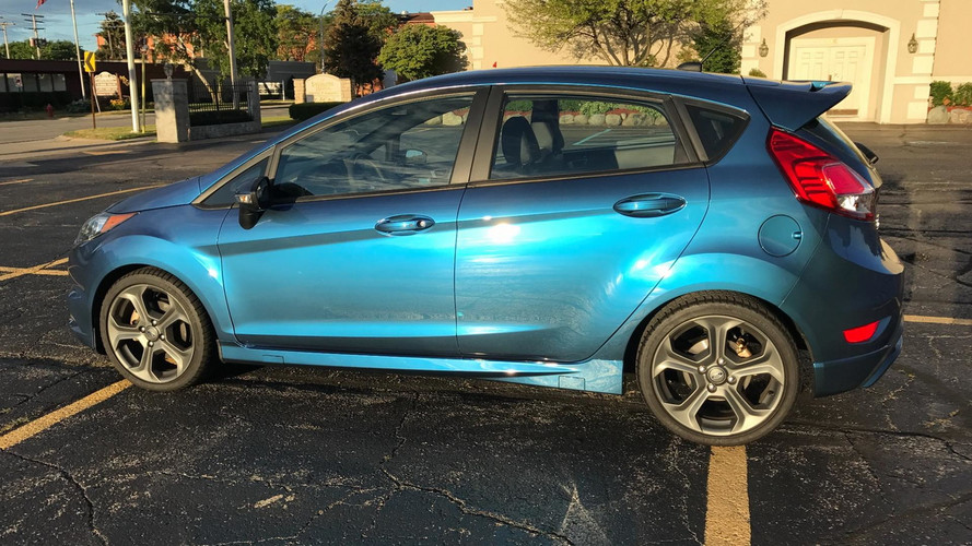 Now Is Your Chance To Own World's Only Liquid Blue Ford Fiesta ST