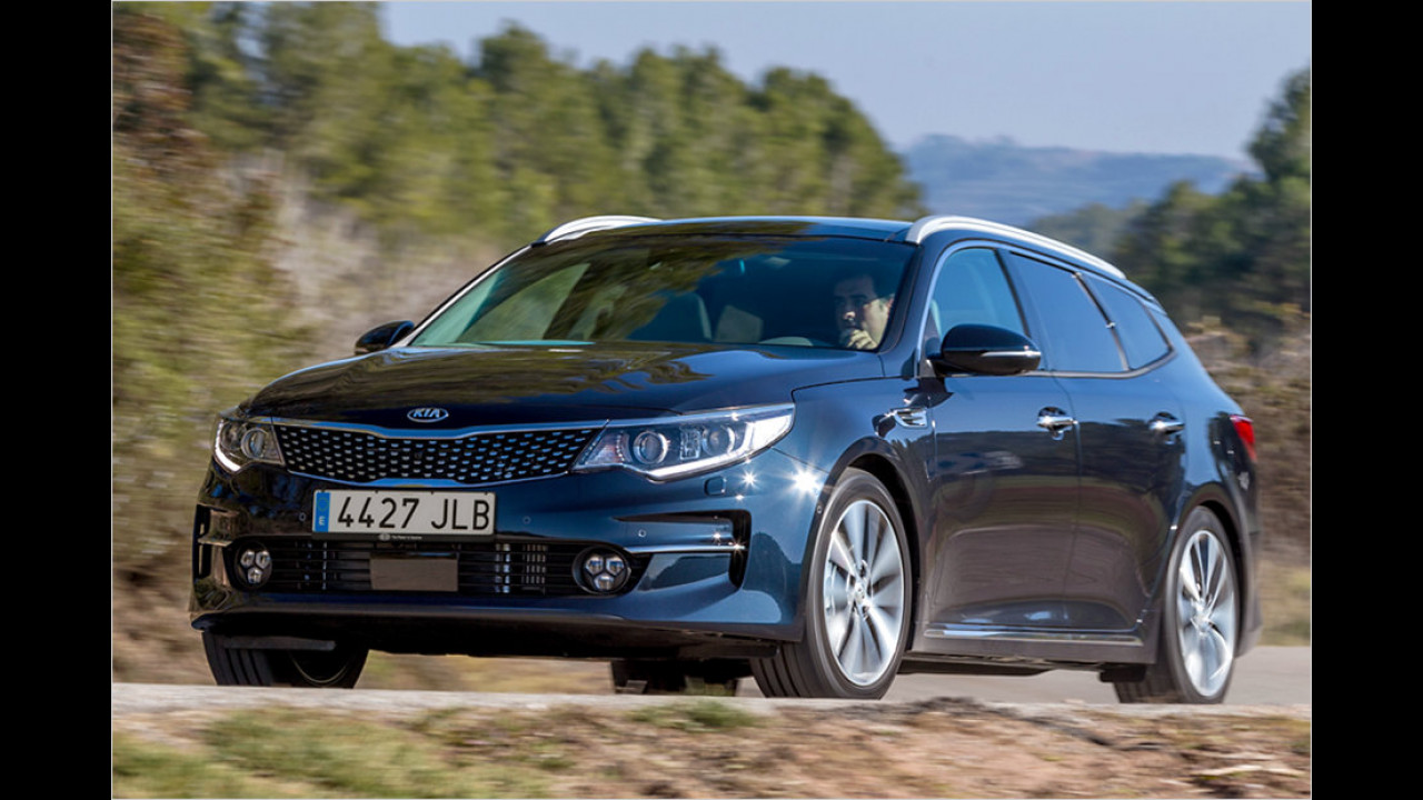 Kia Optima Sportswagon: 4,85 Meter
