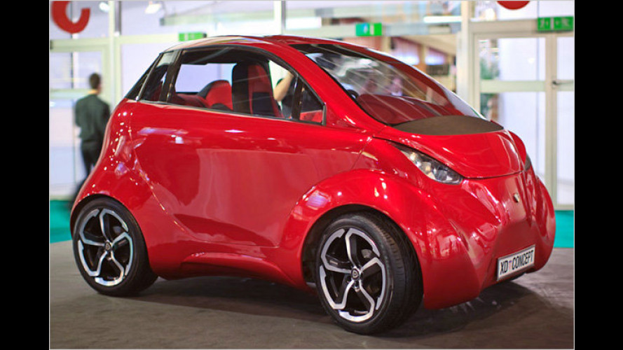 Dok-Ing XD: Kleinstwagen mit Elektroantrieb aus Kroatien