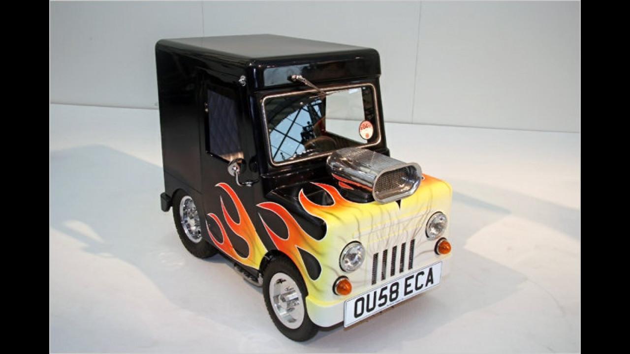 Wind Up, das kleinste Auto der Welt
