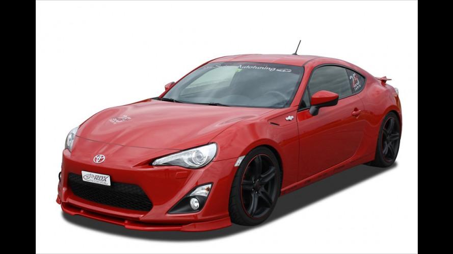 RDX: Spoilerschmuck für den Toyota GT 86