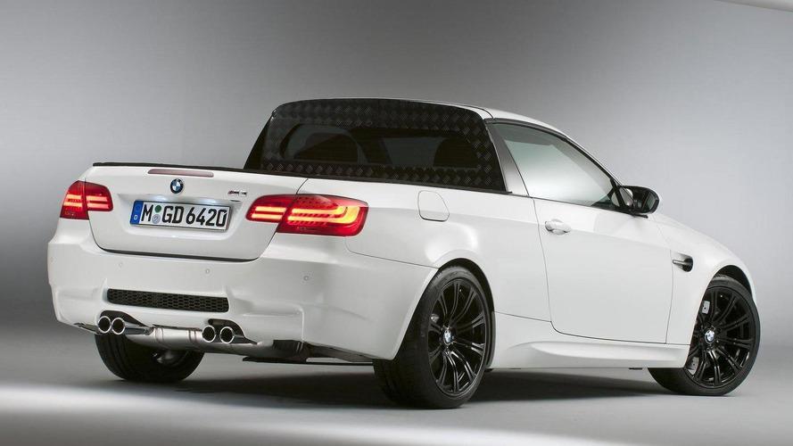 BMW, pick-up modeline hayır demiyor