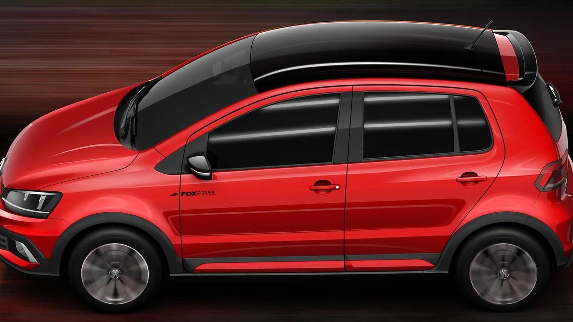 Volkswagen Fox Pepper. Концепт 2014 года