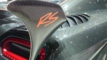 Koenigsegg Agera RS live in Geneva (printscreen)